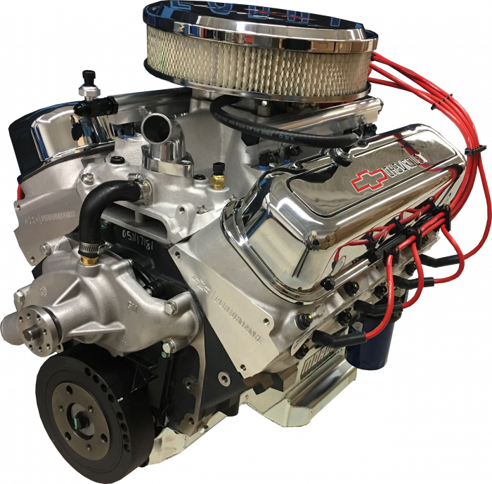 PACE Performance - GMP-19331576-1EX - Pace Performance Edelbrock Pro-Flo4 EFI CPP ZZ502 508HP Fully Assembled Deluxe EFI Crate Engine
