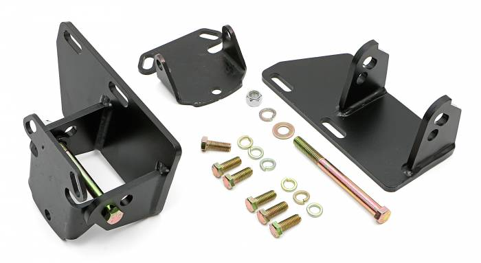 Trans-Dapt Performance Products - TD4528 - Trans Dapt Solid Motor Mount Kit , Chevy 283-350 into S10 , S15 (2WD)