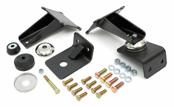 "Trans-Dapt Performance Products - TD4604 - Trans Dapt Bolt-In, Biscuit Style Motor Mounts; Chevy/GM LT(gen 5) Series; 27""-33"" Framerails"