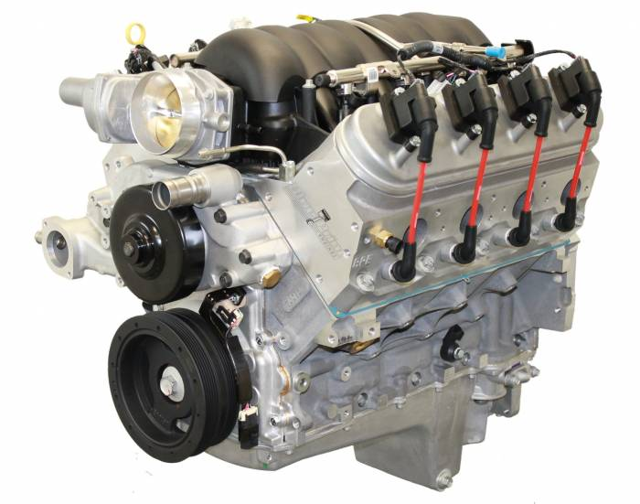 Blue Print - PSLS3760CTF - BluePrint Engines 376CI 530HP Crate Engine, GM LS3 Style, Dressed Longblock, Aluminum Heads, Roller Cam