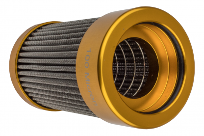 """Hyperfuel Systems - HYP46129 - 100 micron 5.5"""" In line Fuel Filter Replacement Element"""