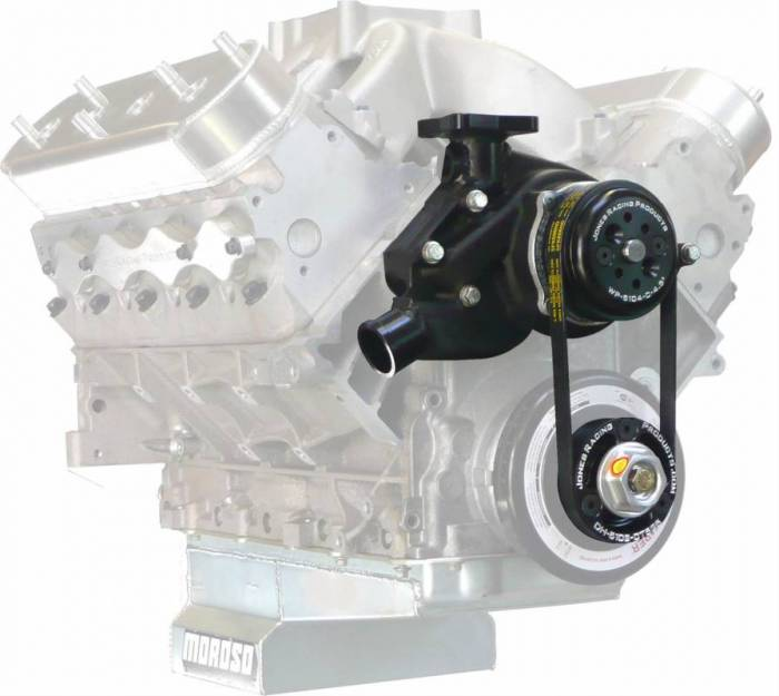 Jones Racing Products - JRP-1020LS - CT525 Water Pump, Pulley and Belt Kit