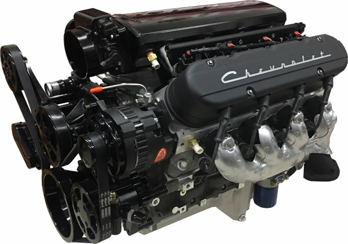 PACE Performance - GMP-19256529-2EF - Pace Performance LS3 570HP Crate Engine Package, prime and prepped