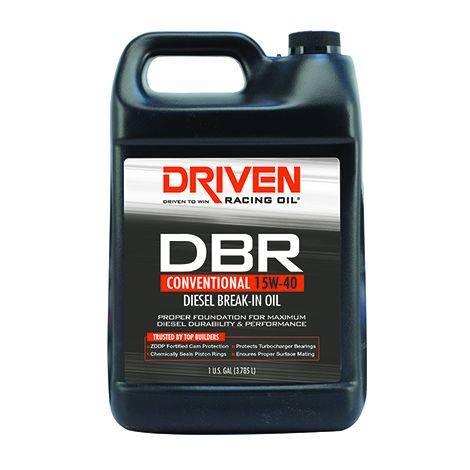 Driven Racing Oil - JGD-05308 - DBR Diesel Break In Oil 15W-40 - Gallon Jug