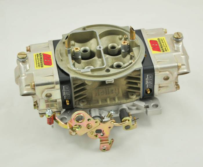AED Performance - AED AL650HO-BK Aluminum 650 HO Double Pumper Carb w/Black Metering Blocks