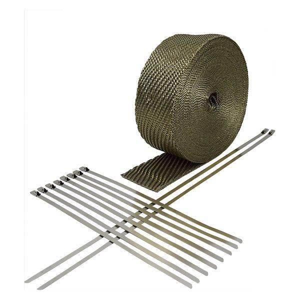 Heatshield Products - Exhaust Heat Wrap Kit 2 Inch X 50 Foot Heatshield Products 312051