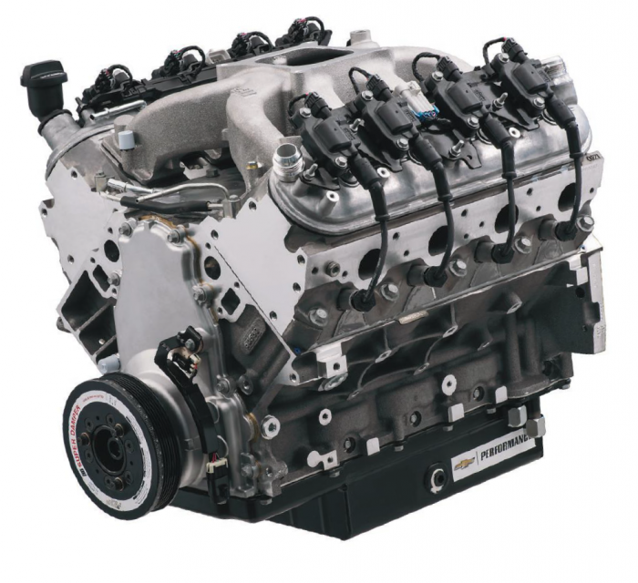 Chevrolet Performance Parts - 19418211 - Chevrolet Performance Parts CT525 LS3 6.2L (sealed) Circle Track Race Engine 376CID 533HP