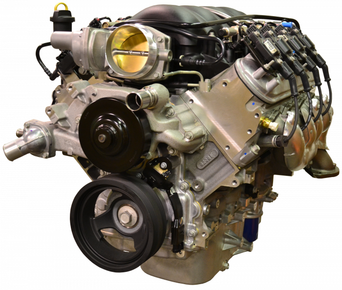 Chevrolet Performance Parts - CPSLS3765256L80E - Chevrolet Performance LS3 525HP Engine with 6L80E 6-Speed Auto Transmission Combo Package