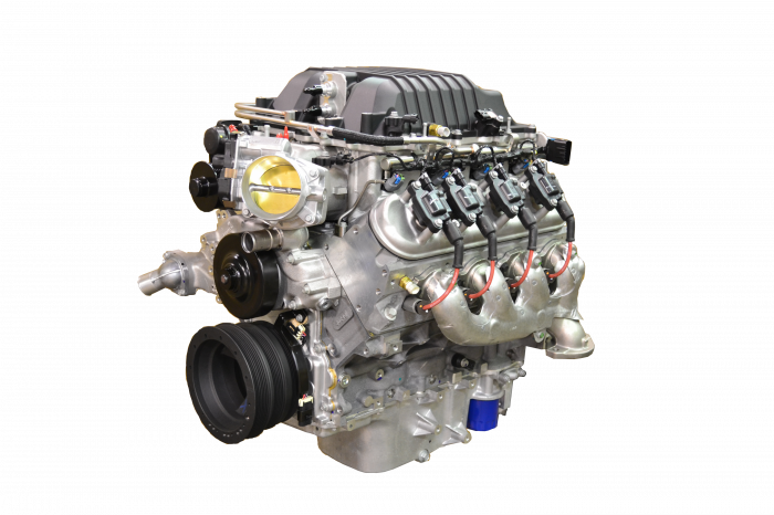 Chevrolet Performance Parts - CPSLSA6L80E -  Chevrolet Performance S/C LSA 556HP Engine with 6L80E 6-Speed Auto Transmission Combo Package