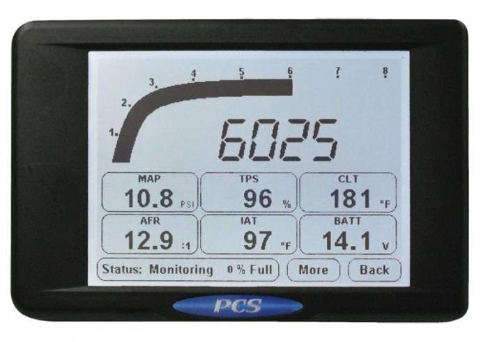 Powertrain Control Solutions - PCSA-DIS2022 - D200 Dash Logger Only - Does not include harness
