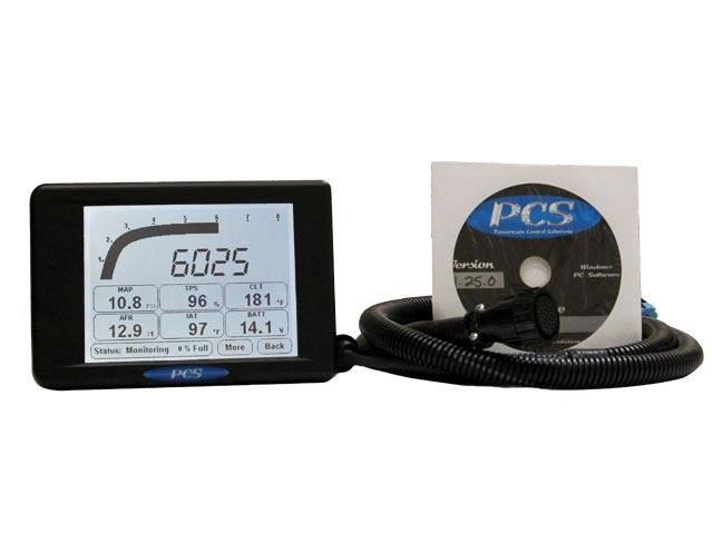 Powertrain Control Solutions - PCSA-DIS5100 - D200 Dash Logger Kit including Harness