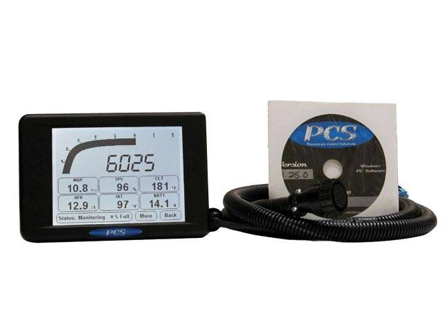Powertrain Control Solutions - PCSA-DIS5200 - D200 Extreme Environment Dash Logger Kit including Harness