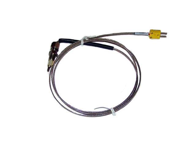 """Powertrain Control Solutions - PCSA-EGT4027 - Thermocouple 1/4"""" Tube 24"""" w/ Mini Connector"""
