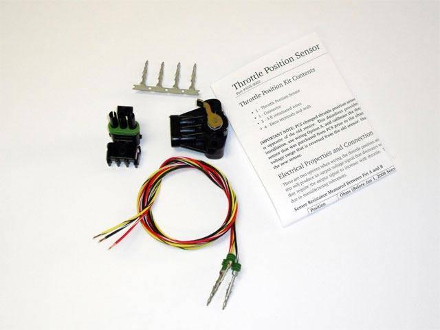 Powertrain Control Solutions - PCSA-SNS0002 - Throttle Position Sensor, Weatherpack, CCW rotation, external arm PCS
