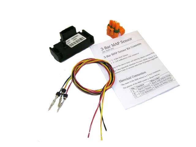 Powertrain Control Solutions - PCSA-SNS1002 - 3 Bar (Vacuum to 30psi boost) MAP Sensor - GM Style