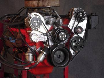 Kwik Performance - K10278 -  BBC Serpentine System-Sanden Mini-AC, Alt, Type 2 PS