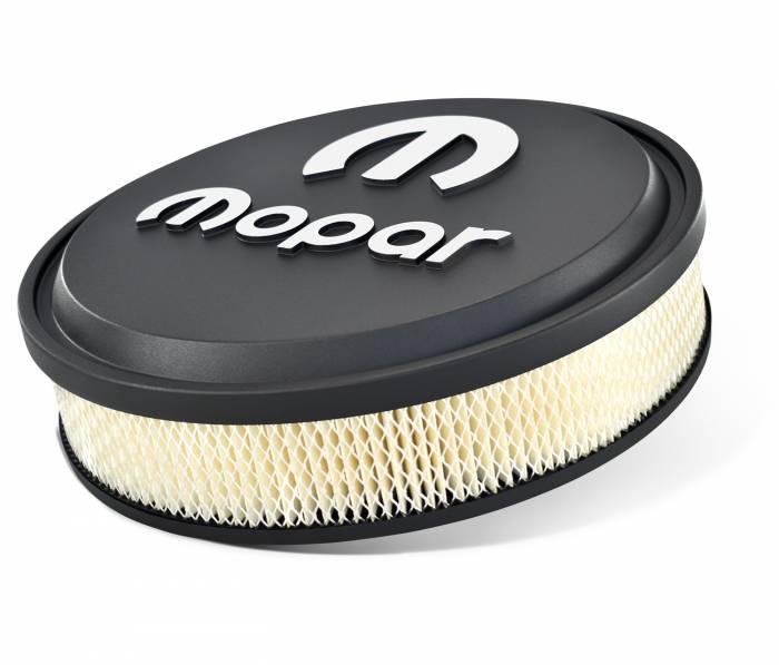 "Proform - Mopar 14"" Air Cleaner Black with Raised Emblem, Slant Edge Proform 440830"