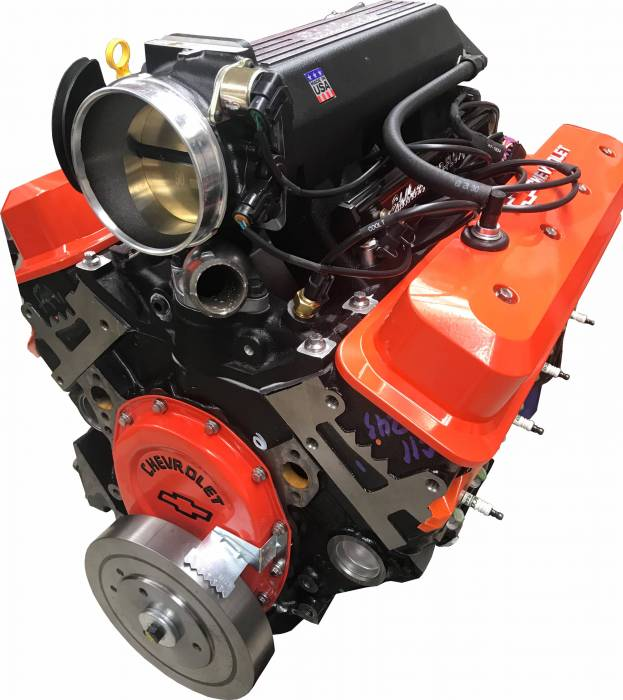 PACE Performance - Small Block Crate Engine by Pace Performance HP383 383CID 405HP w/ Edelbrock Pro-Flo Fuel Injection GMP-19355720-5EX