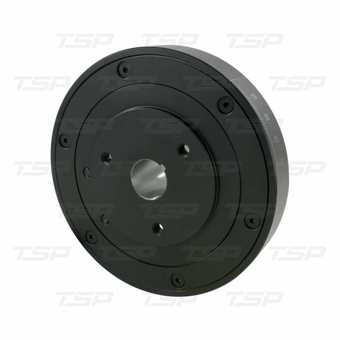 "TSP - Harmonic Balancer Chevy Small Block 400 8"" SFI Certified Black Top Street Performance 30003"