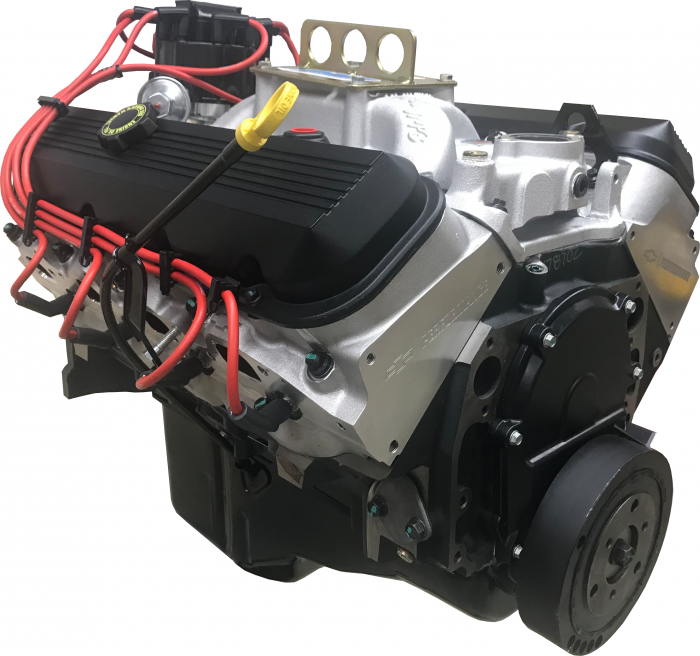 PACE Performance - ZZ454 500HP Pace Performance Prepped and Primed Long Block with Edelbrock Intake - GMP-19419001-KX