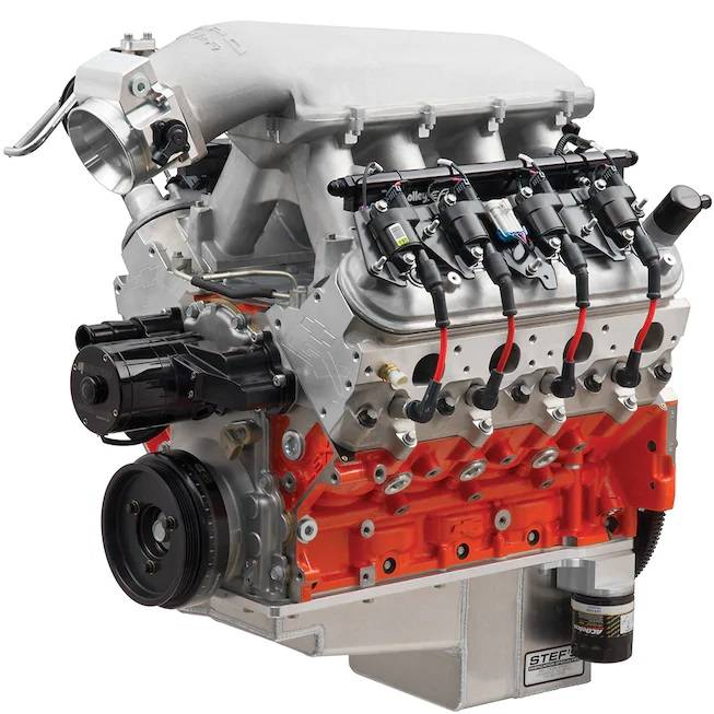 Chevrolet Performance Parts - 19351762 - LS Crate Engine by Cheverolet Performance COPO 427 NHRA Rated at 470 HP