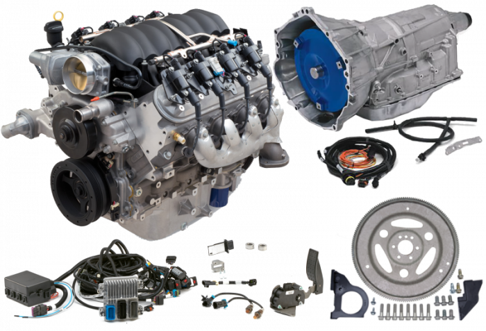 Chevrolet Performance Parts - Chevrolet Performance LS3 430 HP Engine with 6L80E 6-Speed Auto Transmission Combo Package CPSLS36L80E