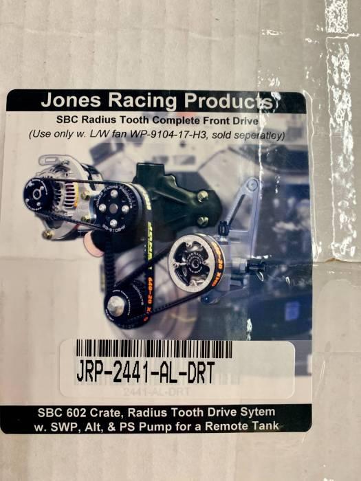Jones Racing Products - JRP-1441-AL-DRT-SBC P/S Serp Kit