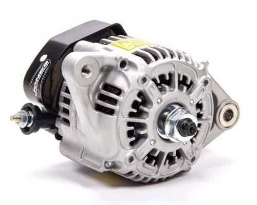 Jones Racing Products - 55/70 Amp, Single Wire Alternator, Switchless Jones AL-9101-B-NS