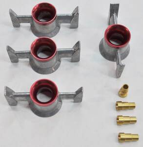 PACE Performance - 12 Hole Billet Annular 750 Skirt For 4500 Style Quick Fuel Technologies 21-402QFT (800-QFT21-402QFT)