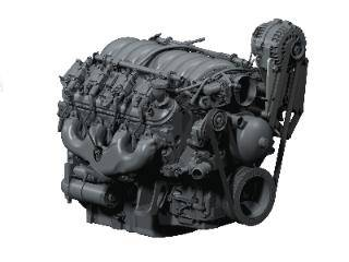 Kwik Performance - K10184 - Street Rod Truck LSx Alternator-Only Bracket