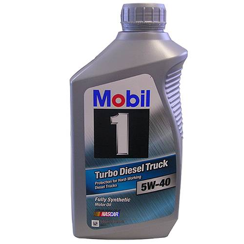Mobil 1 - 88863410 - 5W40 Mobil Turbo Diesel Truck Oil - 1 Quart