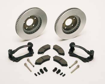 Chevrolet Performance Parts - 12498644 - W-car High Performance Front Brake Upgrade Complete Package for '97-03 Grand Prix & '00-03 Monte Carlo.