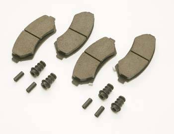 Chevrolet Performance Parts - 12498645 - W-car High Performance Front Brake Pad Set for '97-03 Grand Prix & '00-03 Monte Carlo.