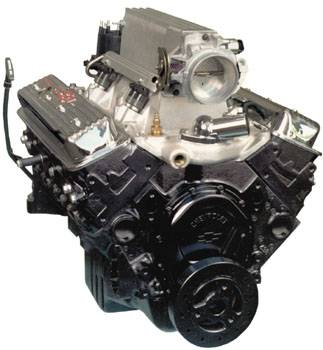 Chevrolet Performance Parts - 19417619 - GM Ram Jet 350 Crate Engine