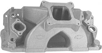 Chevrolet Performance Parts - 24502481- Aluminum 18 Degree Intake Manifold