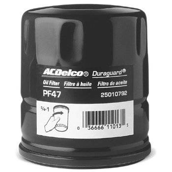 GM (General Motors) - 25324052 - AC Delco PF454 Oil Filter- Small Block/Big Block Chevy 1/2 Quart capacity