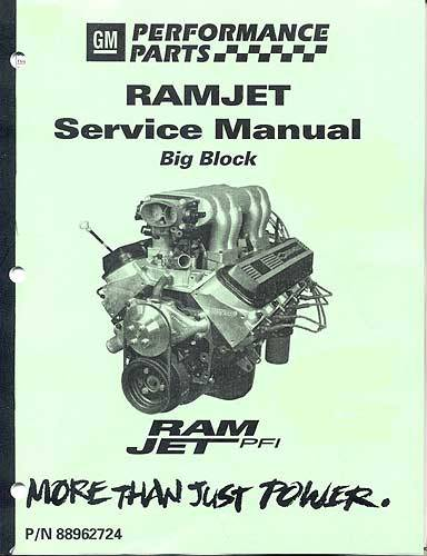 Chevrolet Performance Parts - 88962724 - Ram Jet 502 Manual- MEFI-4 Version