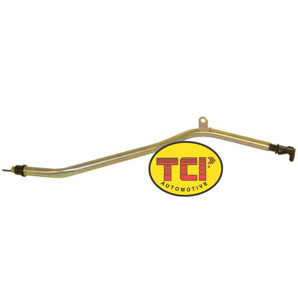 TCI Transmission - TCI743802 - TH400 Chevy Locking Dipstick Tube