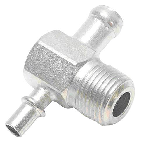 "Paragon - 3891525 - Intake Manifold Vacuum Fitting - 3/8"" NPT With One 3/8"" Hose Nipple And One 1/4"" Hose Nipple"