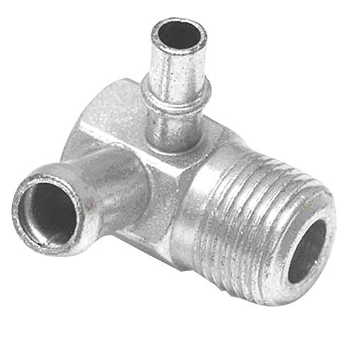 "Paragon - 3909884 - Intake Manifold Vacuum Fitting - 3/8"" NPT And One 3/8"" Hose Nipple, One 1/4"" Hose Nipple"