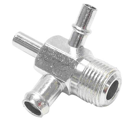 "Paragon - 3921921 - Intake Manifold Vacuum Fitting - 3/8"" NPT, One 3/8 Hose Nipple, Two 1/4"" Hose Nipples"