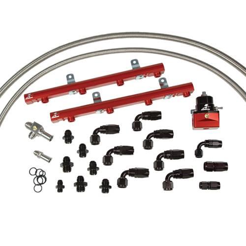 Aeromotive - AEI14127 - 99-04 5.4L Lightning/Harley Fuel Rail System