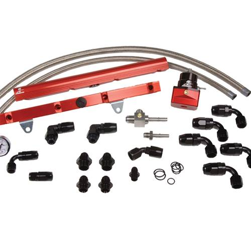 Aeromotive - AEI14129 - 99-03 1/2 GM LS1 Corvette (Return-Style) Fuel Rail System