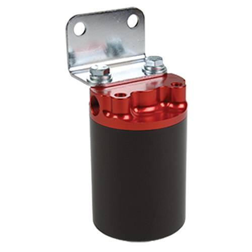 Aeromotive - AEI12317 - 10 Micron, Red/Black Canister Fuel Filter