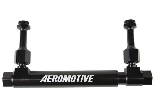 Aeromotive - AEI14201 - Dual Action Adjustable Fuel Log - Holley