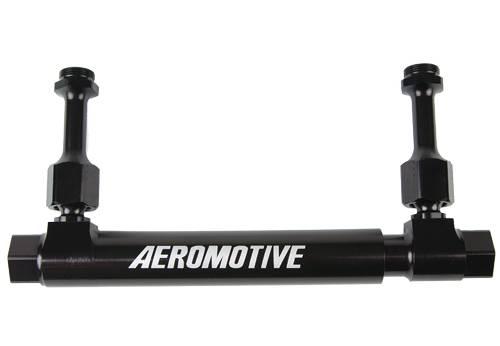 Aeromotive - AEI14202 - Dual Action Adjustable Fuel Log - Demon