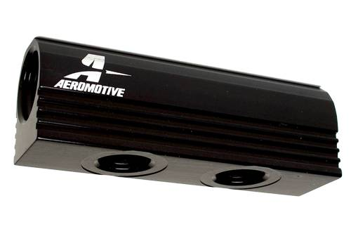 Aeromotive - AEI14601 - 4-Port Fuel Distribution Log