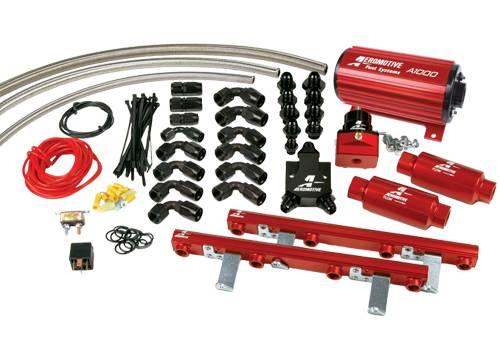 Aeromotive - AEI17143 - 96-98 1/2 4.6L Dohc Cobra A1000 Fuel System
