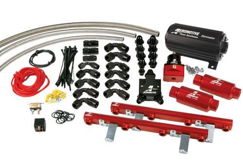 Aeromotive - AEI17144 - 96-98 1/2 4.6L Dohc Cobra Eliminator Fuel System
