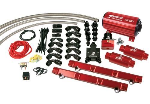 Aeromotive - AEI17145 - 98 1/2-04 4.6L Dohc Cobra A1000 Fuel System
